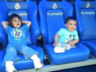 Pe banca de rezerve a celor de la Real Madrid