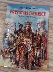 Cartea lunii, Povestiri Istorice de Dumitru Almas