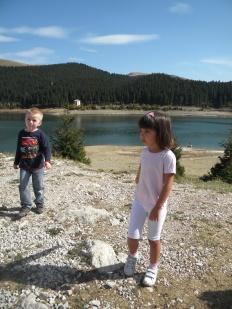Ilinca si David la Lacul Bolboci
