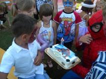 Spiderman i-a tinut tortul lui Andi