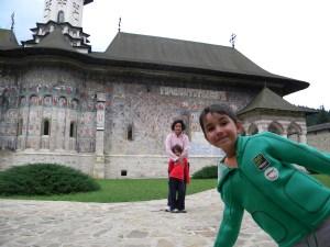 In vizita la manastirile din Moldova